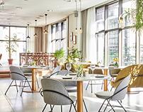 FAYE AND SUMMER / Hotel Restaurant, interior design