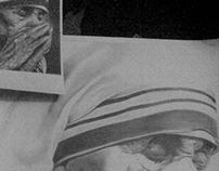 Mother Teresa -Pencil sketch