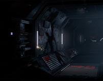 Spaceship corridor