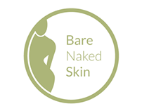 Bare Naked Skin - logo (sketches)