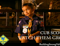 Cub Scouts and Parents Unscripted TV