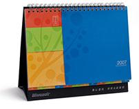 Microsoft Taiwan 2007 calendar