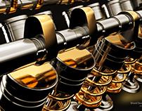 Engine Valve System CGI