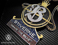 Heavy weight Champion boxer Bermane Stiverne's pendant