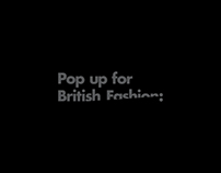 Pop up for British Fashion