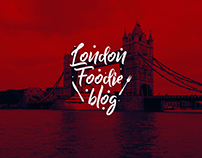 Logo Design for London Foodie Blog