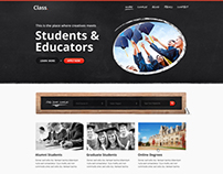 Class | Education Template