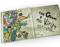 The Germ & The Virus Children's Book