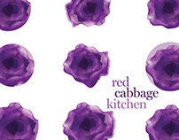 red cabbage kitchen branding