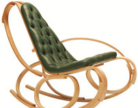 Tom Raffield Rocking Chair