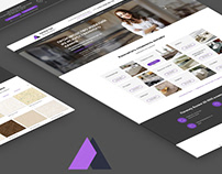 Unique website design KamenPro / UI/UX / webdesign