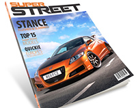 Super Street Magazine Redesign