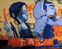 Street Art Indoor - Outdoor commission