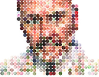 Dot Portrait (Mark)