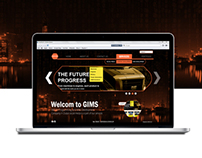 GIMS Web interface