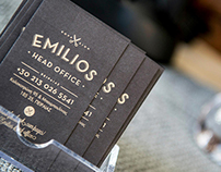 Emilios Head Office, Branding