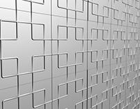Chinese Contemporary Tiles (Hybrid - Pewter & Resin)