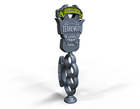 TERREMOTO - TAP HANDLE