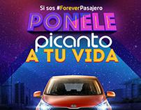 Campaña #ForeverPasajero - KIA Picanto.
