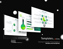 Science Graphs PowerPoint Template | Free Download