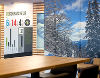 Office Branding- Interski