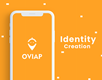 Ovi - Food services app Brand Identity Creation
