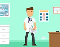 Global Medics - Moving to Ireland - Animation