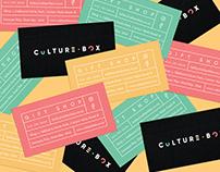 Culture Box Branding