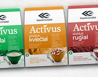 Creative Trade Mark packages design for ACTIVUS. CTM