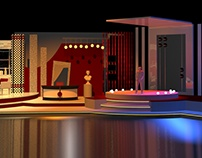 TV Studio Set Design.