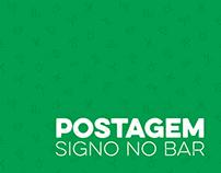 Posts Facebook e Instagram - Signos no bar