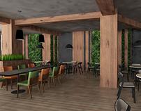 Coffee Interior_Green Plants