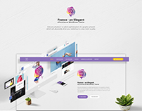 Franco Wordpress Theme - Landing Page