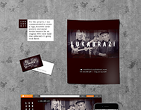 LUKABRAZI | Band logo and promo materials
