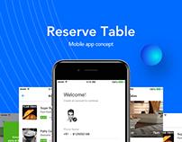 Online Restaurant Booking Mobile App