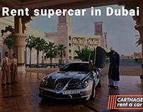 """Rent supercar in Dubai """"CARTHAGE RENT A CAR L.L.C."""""""