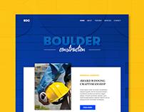 Boulder construction homepage