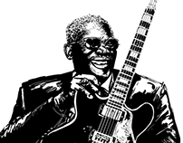 B.B. King - Illustration