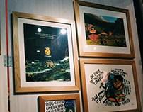 Exposición de arte «Dibujos & Aventuras»