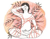 RIZOMA YOGA - visual identity