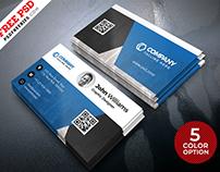 Creative Business Card Design PSD Set