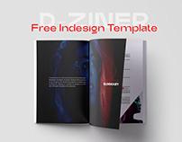 D-Ziner Free InDesign Template