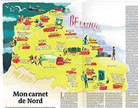 Musée du Nord map | Le Monde
