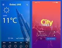 Mobile App UI Designs