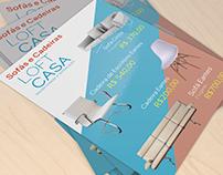 Folheto de Divulgação - Loft Casa Móveis