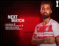 ‏‎CLUB AFRICAIN‎‏-APRIL 2019