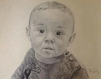 """""""Mateo"""" BIC ballpen drawing."""