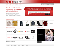 Site UX/UI for Walk the Show