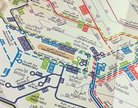 Amman's Unofficial Transport Map