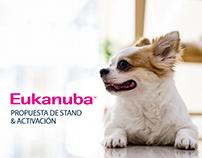 Stand Eukanuba con activación
